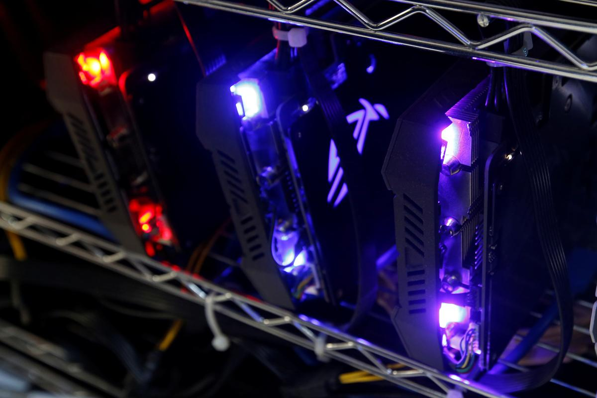 As bitcoin world wobbles, mining rig company plans $2 billion IPO