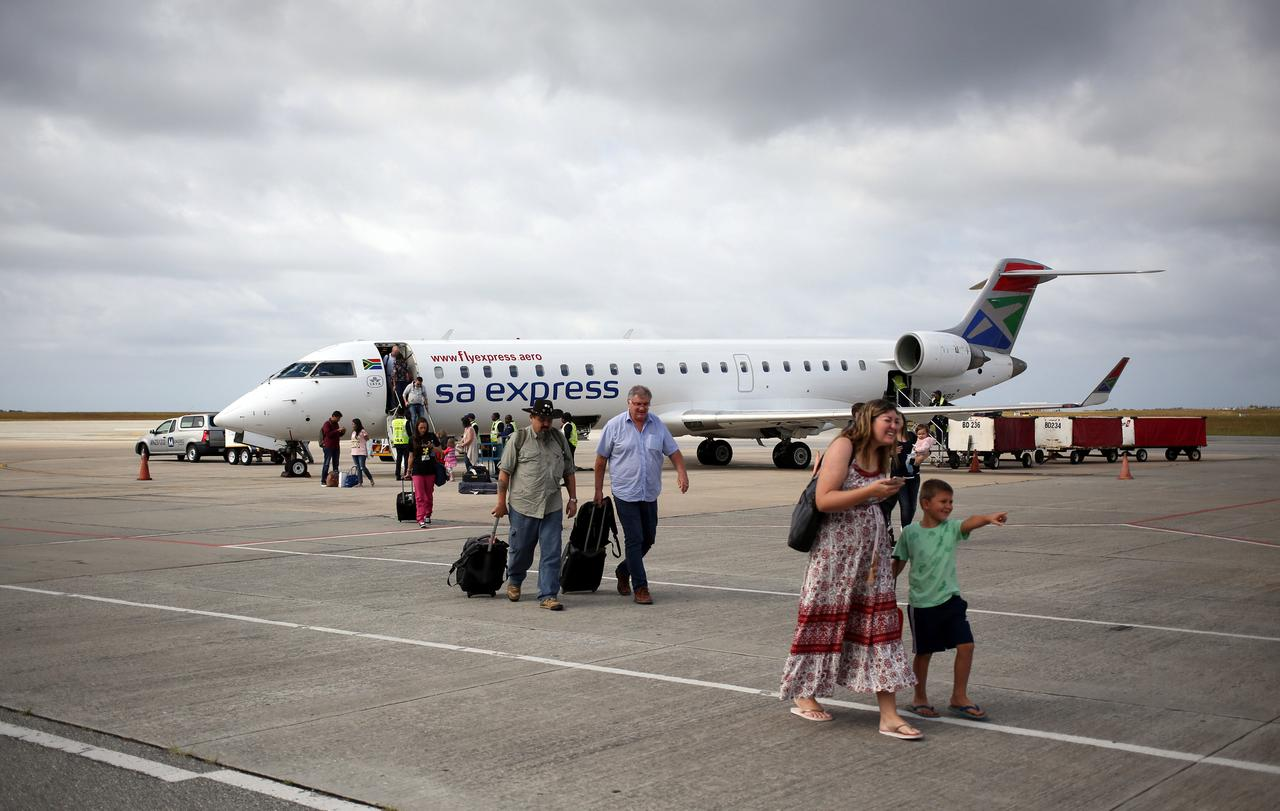 South Africa authorities halt flights of state-run SA Express over ...