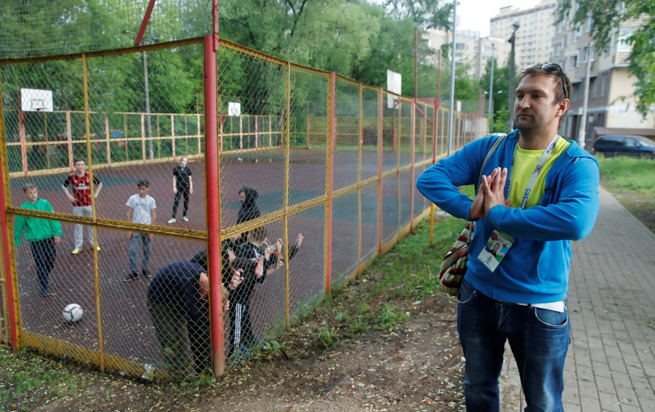 """Résultat de recherche d'images pour """"Exclusive: Blacklisted fan bypasses Russia's World Cup security system"""""""