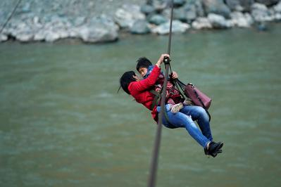 Zipping out for errands in China