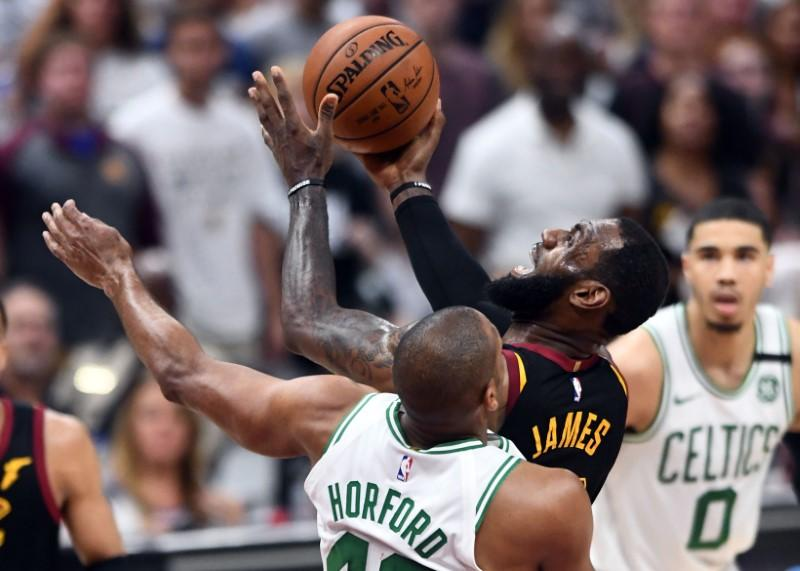 d75de9b648b4 LeBron scores 46 against Celtics as Cavs force Game 7 in Boston ...