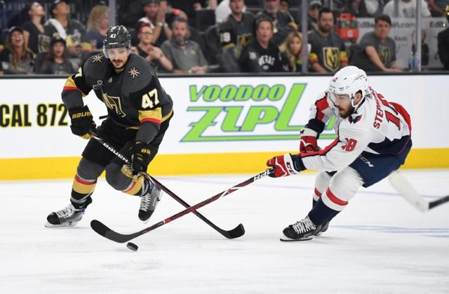 47486241eb6 Golden Knights rally to top Caps in Stanley Cup Final Game 1 ...