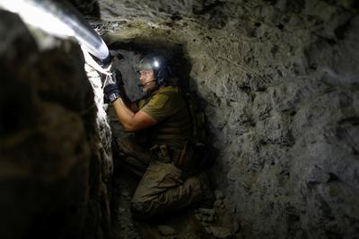 Smuggling tunnel on U.S.-Mexico border