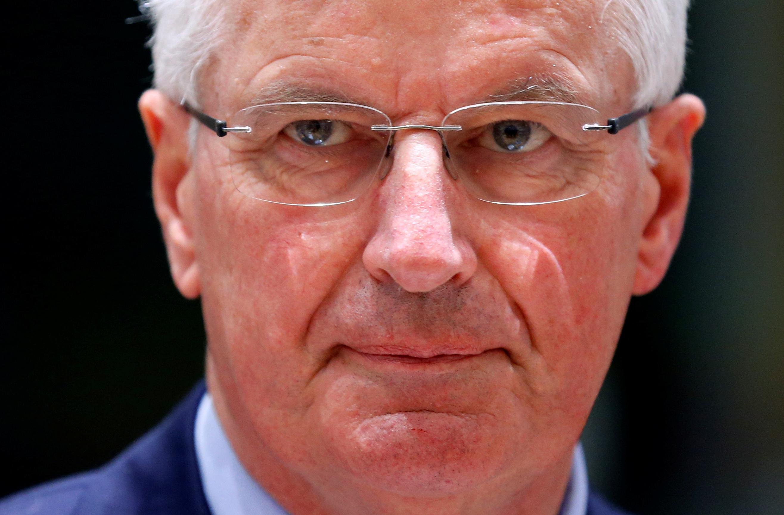Barnier de la UE dice que el plan de la frontera irlandesa del Reino Unido no debe dañar el mercado de la UE