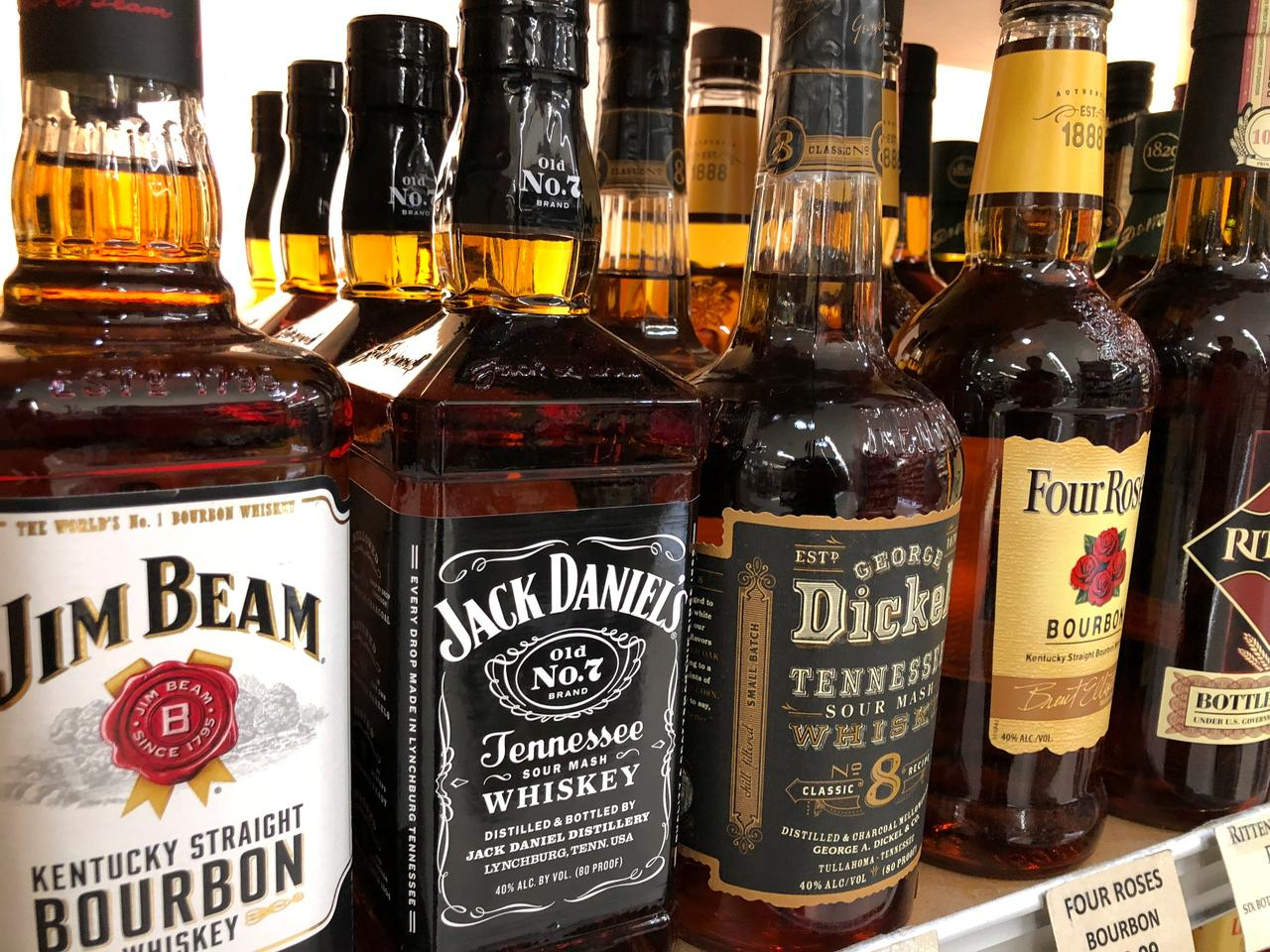 New tariffs risk turning U S  whiskey sour - Reuters