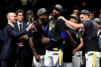 Golden State Warriors win NBA Finals