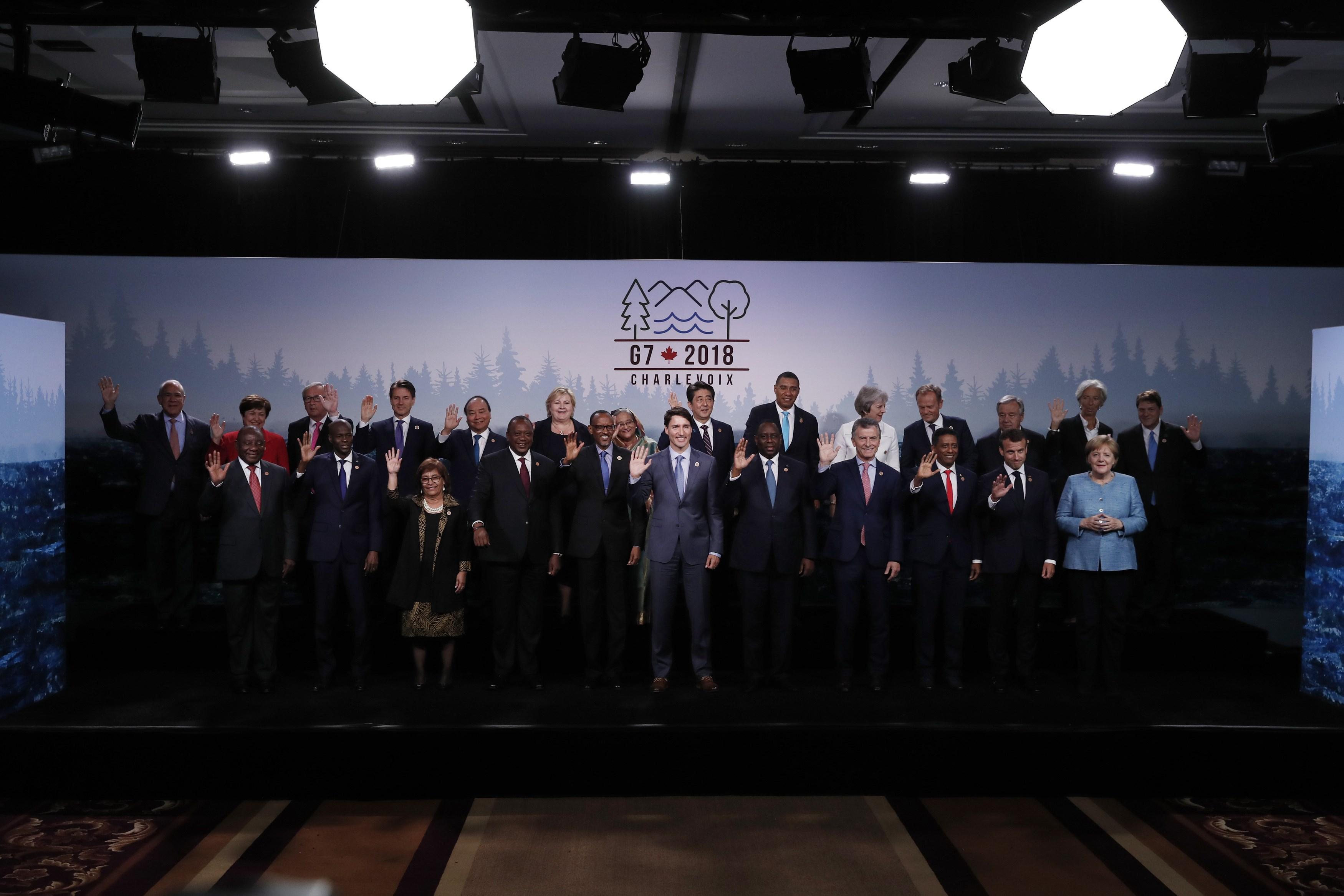 The Charlevoix G7 Summit Communique - Reuters