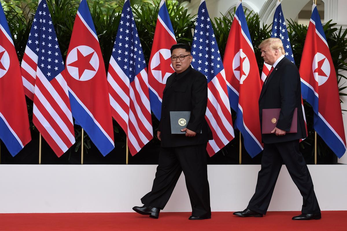 Iran warns North Korea: Trump could cancel deal before getting home   Reuters
