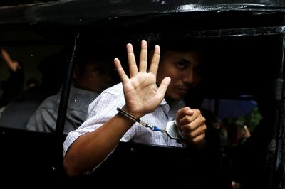 Reuters journalists detained in Myanmar