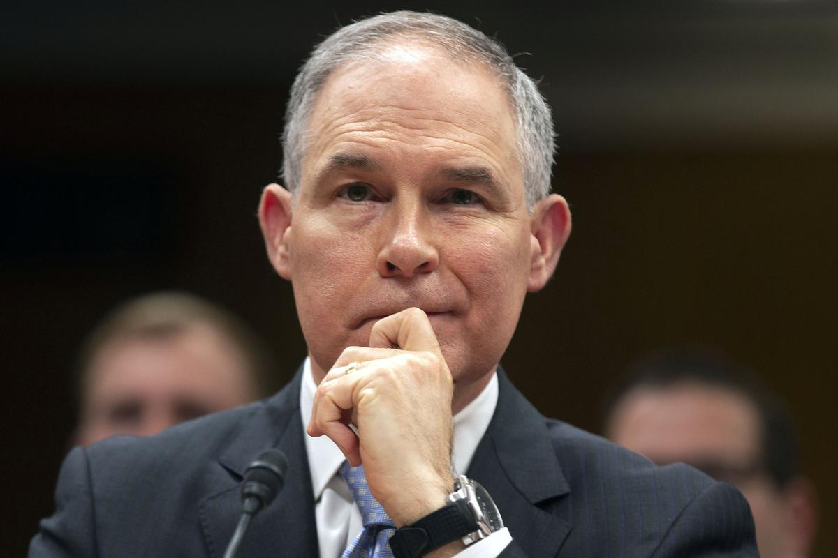 photo image Senate Republicans call for hearing on Pruitt scandals