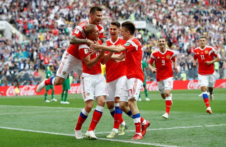 Россия победила Саудовскую Аравию в первом матче ЧМ-2018