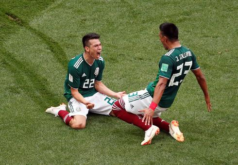 Mexico 1 - Germany 0