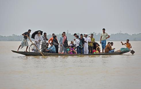 Flooding in northeast India