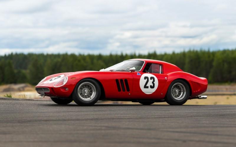 フェラーリ250GTOが競売に 落札予想価格は過去最高の50億円