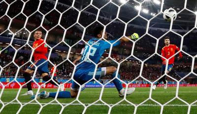 Spain 2 - Morocco 2
