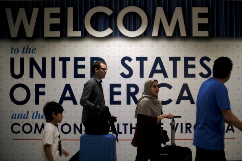 U S  issued waivers to Trump's travel ban at rate of 2 percent, data