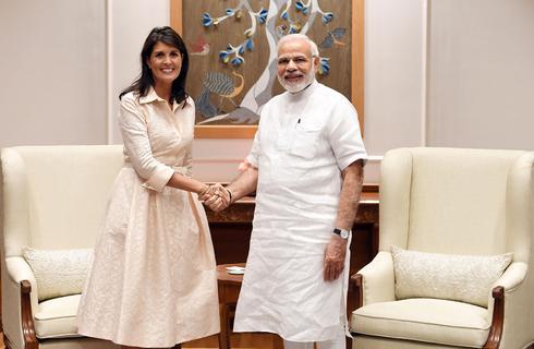 Nikki Haley in India