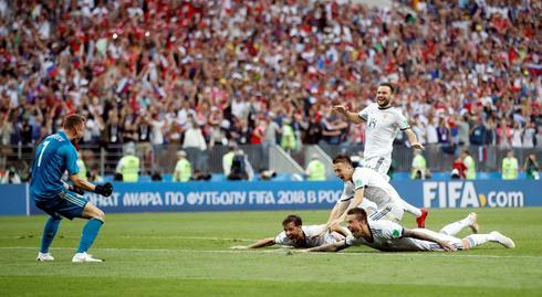 Russia 1 (4) - Spain 1 (3)