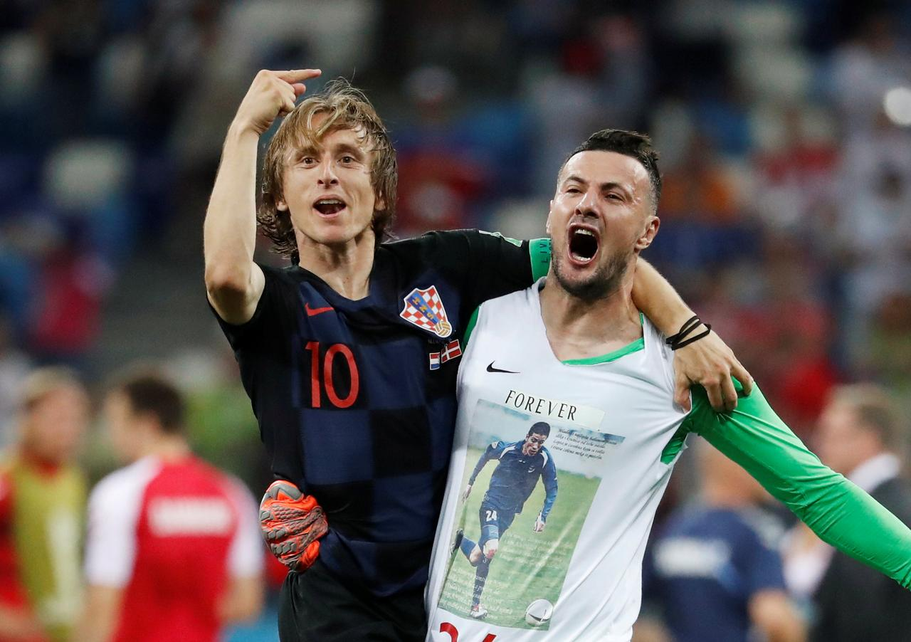 reputable site bcd52 4cd4b Croatia captain Modric steps up after agonizing penalty miss ...