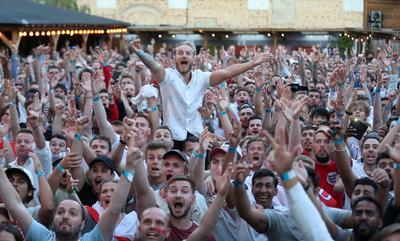 England fans rejoice