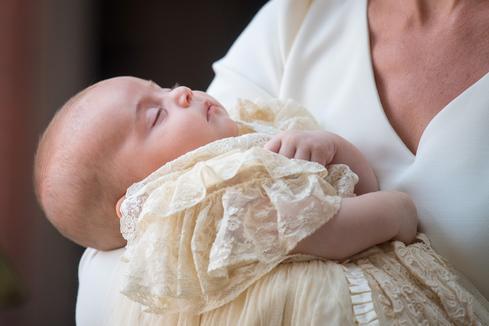 Christening Prince Louis