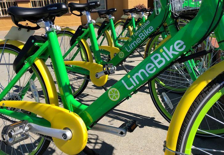 Image result for Uber, Alphabet invest in bike sharing service Lime