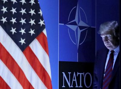 Trump attends NATO summit