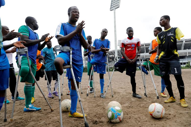 Nigeria S Amputee Soccer Team Prepares For World Cup Reuters Com
