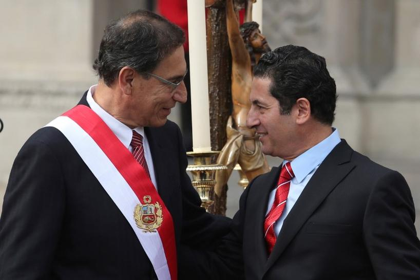 Peru's president fires justice minister as new scandal