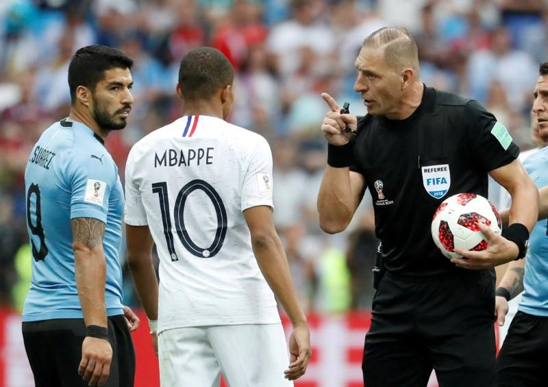 Pitana's path from film extra to World Cup final referee | Reuters