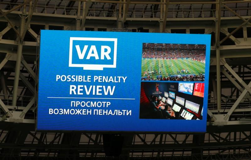 VAR used for first time in World Cup final - Reuters