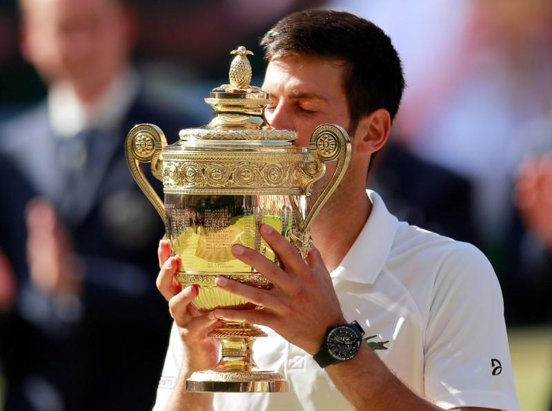 Ruthless Djokovic outplays Anderson to end title drought