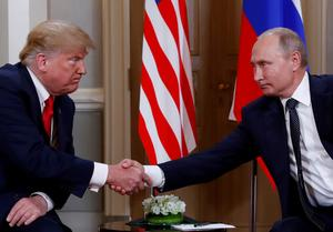 Trump meets Putin in Helsinki