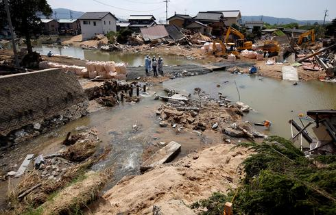 Japan flood aftermath