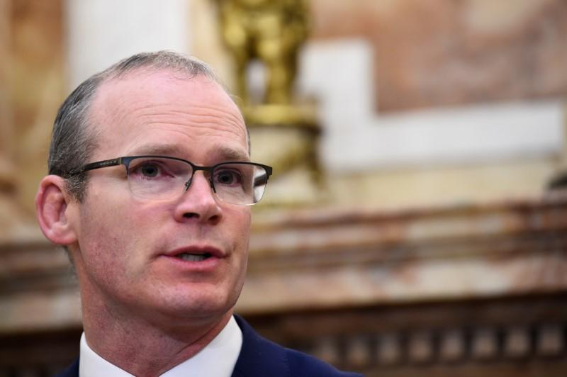 Irish foreign minister says EU to negotiate Brexit on UK's white paper only