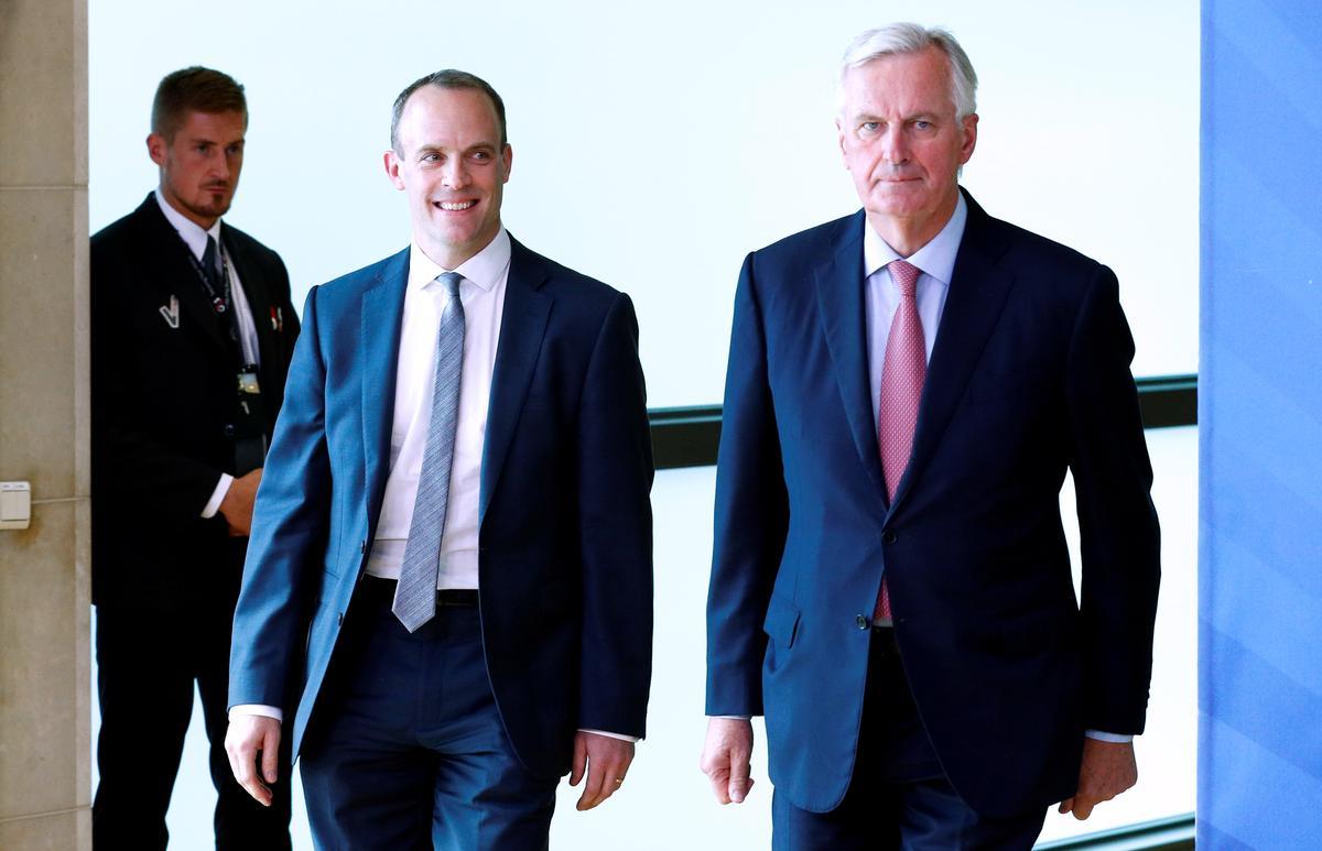 Raab wants to 'heat up' Brexit talks - Reuters