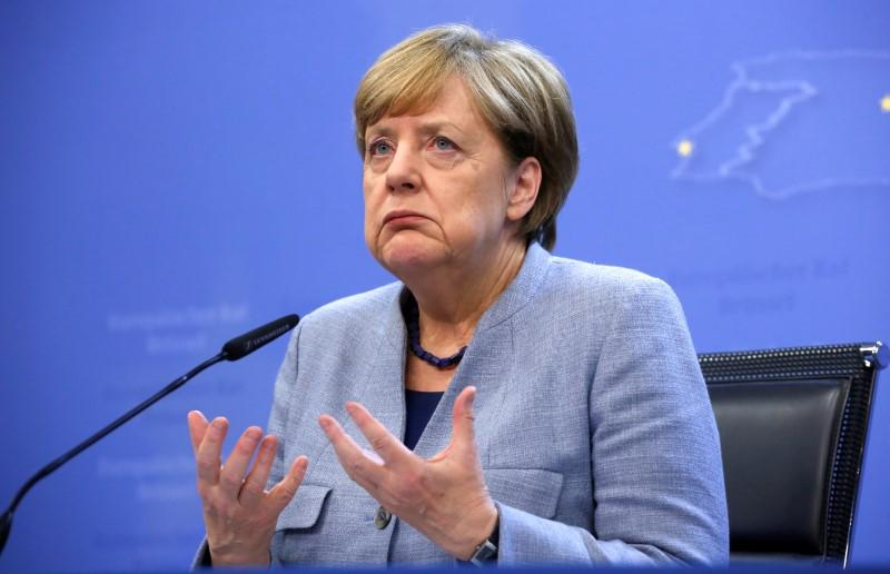 Merkel says Europe can't rely on U S  to impose world order