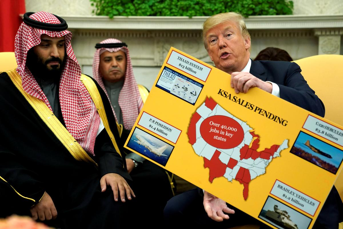 Trump seeks to revive 'Arab NATO' to confront Iran