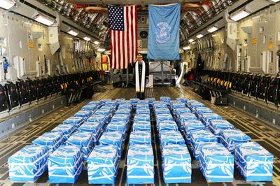 North Korea returns remains of U.S. soldiers killed in Korean War
