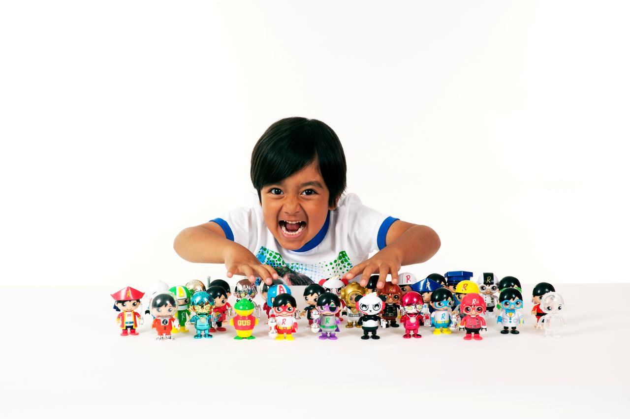 Six-year-old YouTube star brings his own toy line to Walmart