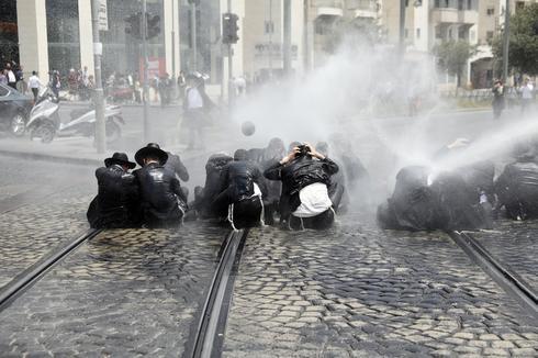 Ultra-Orthodox protest Israeli military draft