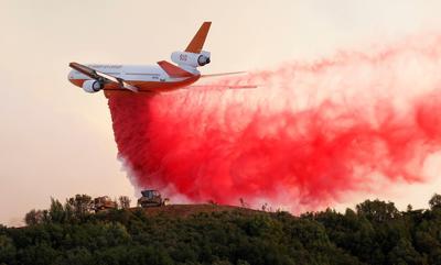 California's Mendocino fires