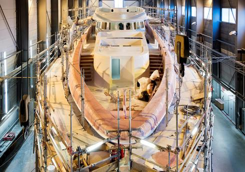 Building a super yacht
