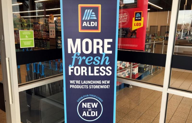 Aldi takes on U S  rivals with scores of new products - Reuters