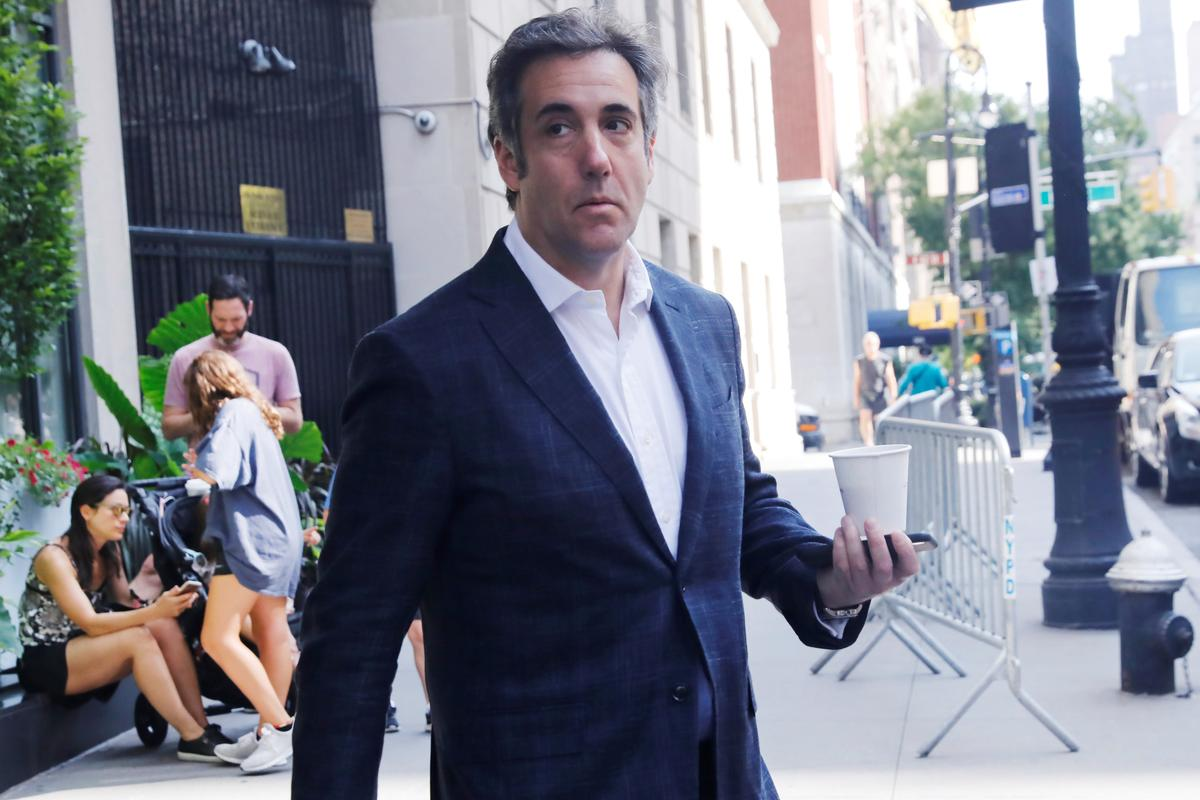 photo image Review of materials seized from Trump lawyer Cohen wraps up