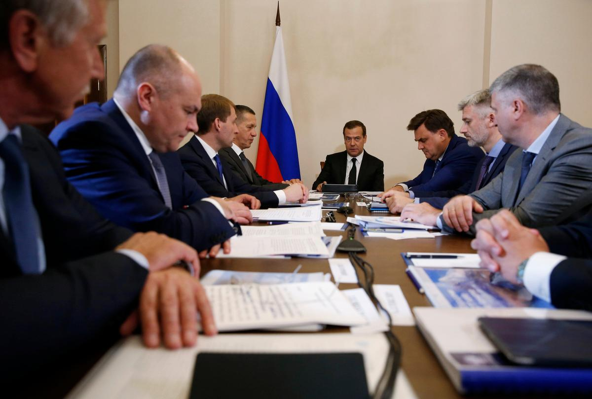 photo image Russia tells Washington curbs on its banks would be act of economic war