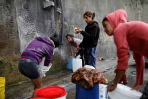 Venezuela's taps run dry