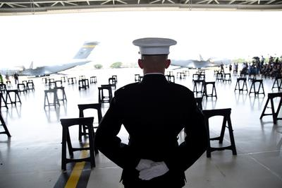 Korean War remains return home to U.S.