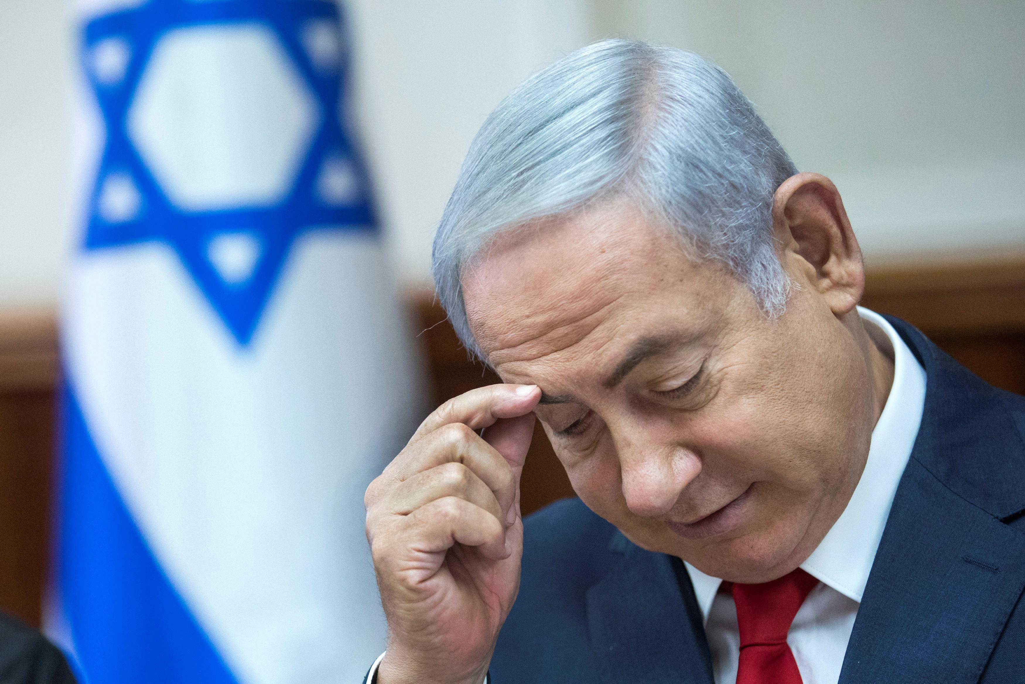 Netanyahu questioned again in telecoms case, sees it 'collapsing'