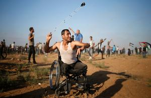 Clashes on the Israel-Gaza border